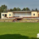 SV Laubusch Vereinsgebäude / Sicht vom A Platz