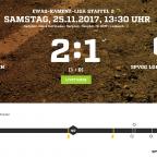 15. Spieltag I 1. Männermannschaft I SV Laubusch – SpVgg Lohsa/Weißkollm  2:1 (1:0)