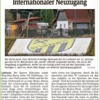 Internationaler Neuzugang